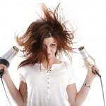 Ochrona włosów przed ciepłem suszarki do włosów