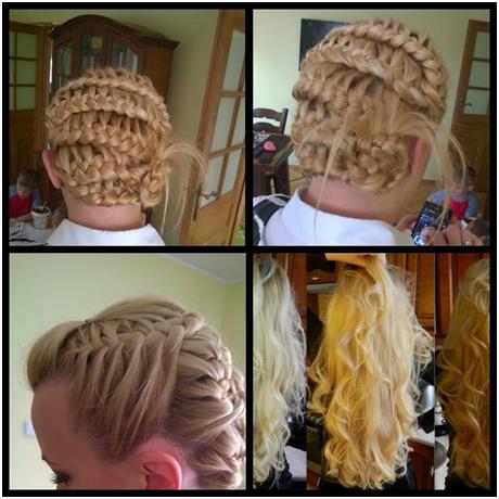 stela włosy warkocz