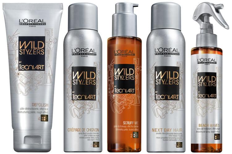 Odkryj szalone oblicze stylizacji włosów z serią kosmetyków Wild Style Masters