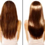 Poznaj 4 kroki do idealnie gładkich i lśniących włosów.