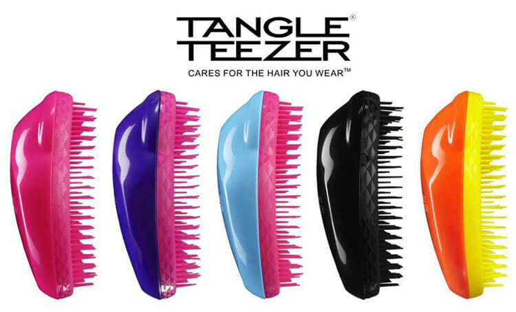 Test szczotek do włosów Tangle Teezer