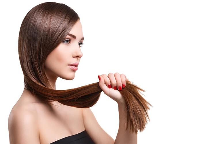 efekt po keratynowym prostowaniu włosów