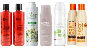 Jakim szamponem myć włosy po keratynowym prostowaniu?