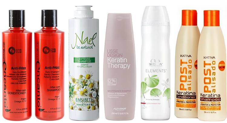 szampony do keratynowego prostowania