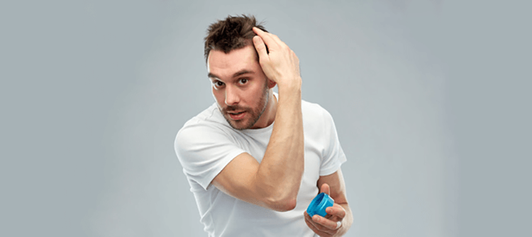 ukladanie włosów żelem