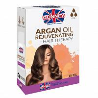 RONNEY Hair Oil Argan Oil olejek do włosów 15ml